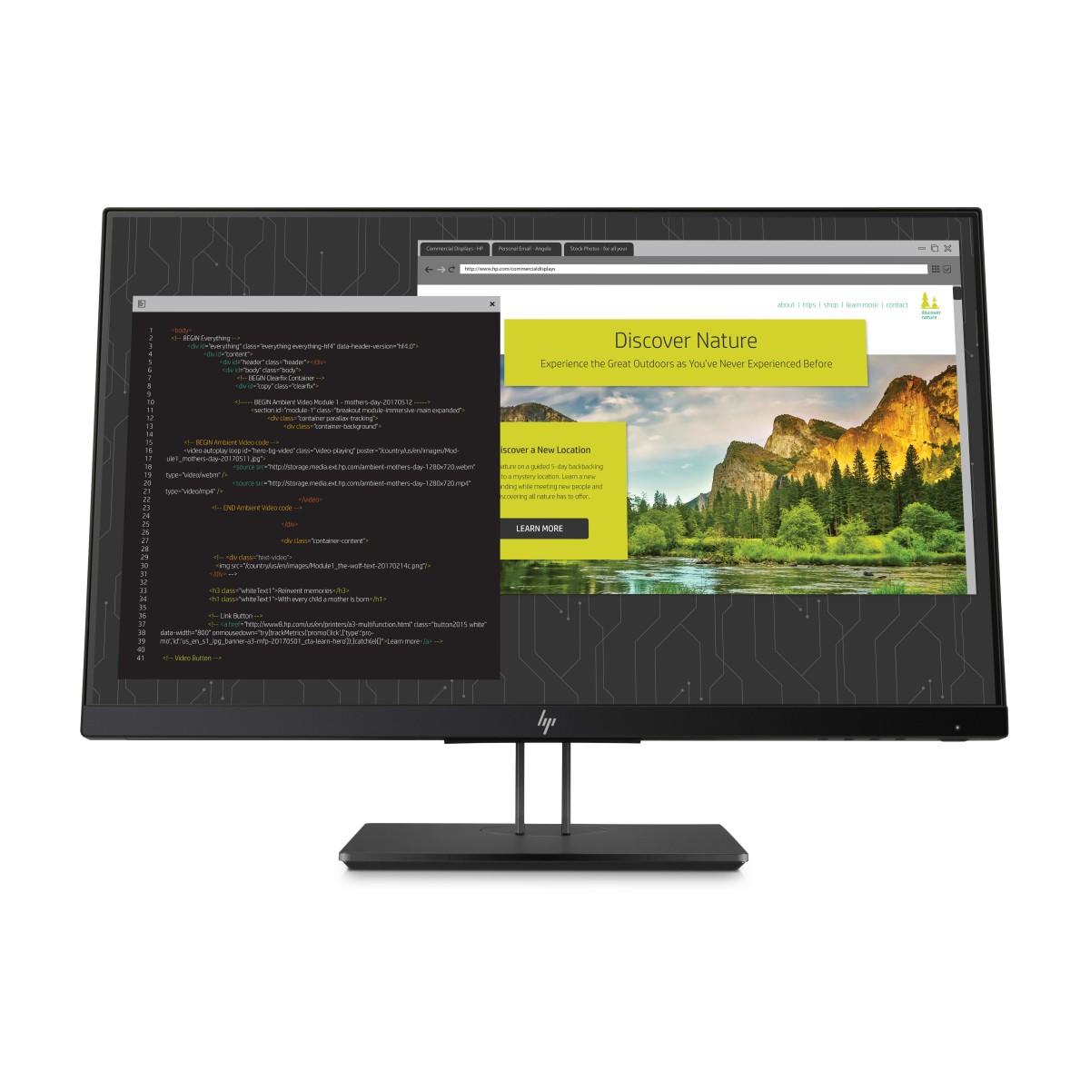 HP Z24nf G2 23,8'' IPS FHD/250cd/5ms/1000:1/ VGA, DP, HDMI, USB / 3/3/0