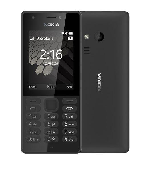 Nokia 216 Dual SIM, černá