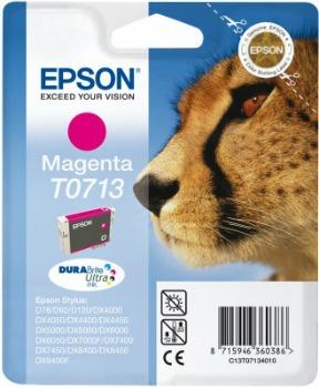 Inkoust Epson T0713 magenta DURABrite   Stylus D78/92/120/DX4000/4050/4400/4450/