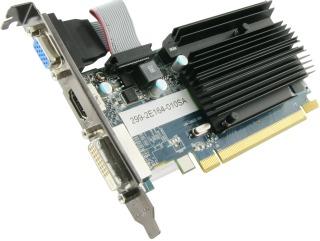 Sapphire Radeon HD 6450, 1GB DDR3 (64 Bit), HDMI, DVI-D, VGA, BULK