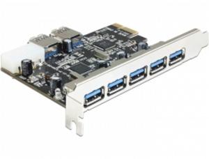 Delock PCI Express Karta > 5 x externí + 2 x interní USB 3.0