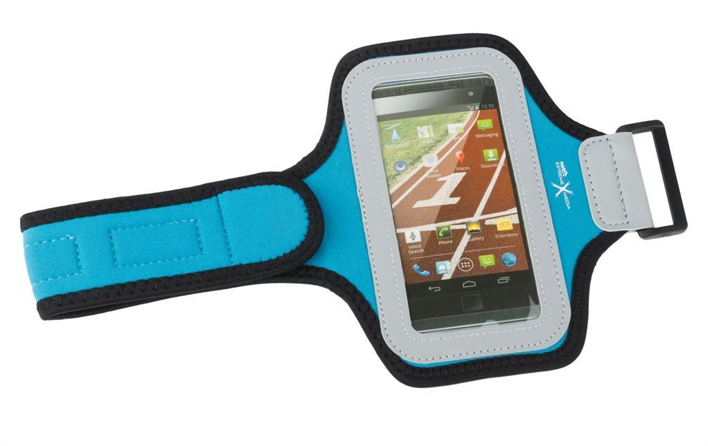 Natec Extreme Media X3 Sportovní pouzdro na ruku pro smartphony, modré