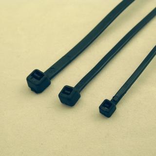 Netrack stahovací pásek 2,5x150mm, 100 ks, černý