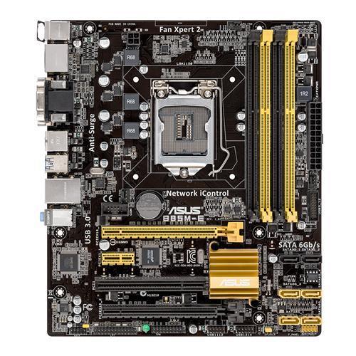 ASUS B85M-E/DASH, B85, DualDDR3-1600, SATA3, GBLAN, mATX