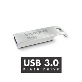 INTEGRAL ARC 64GB USB 3.0 flashdisk, kovový