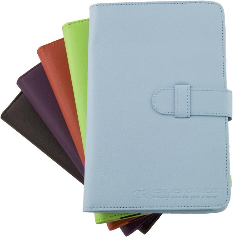 Esperanza ET181M Pouzdro pro tablet 7'', eko kůže, mix barev - BARVU NELZE ZVOLIT!