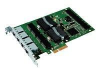 Intel Gigabit Pro/1000 PT (4xRJ45) Quad Port Server - include Low Profile, bulk