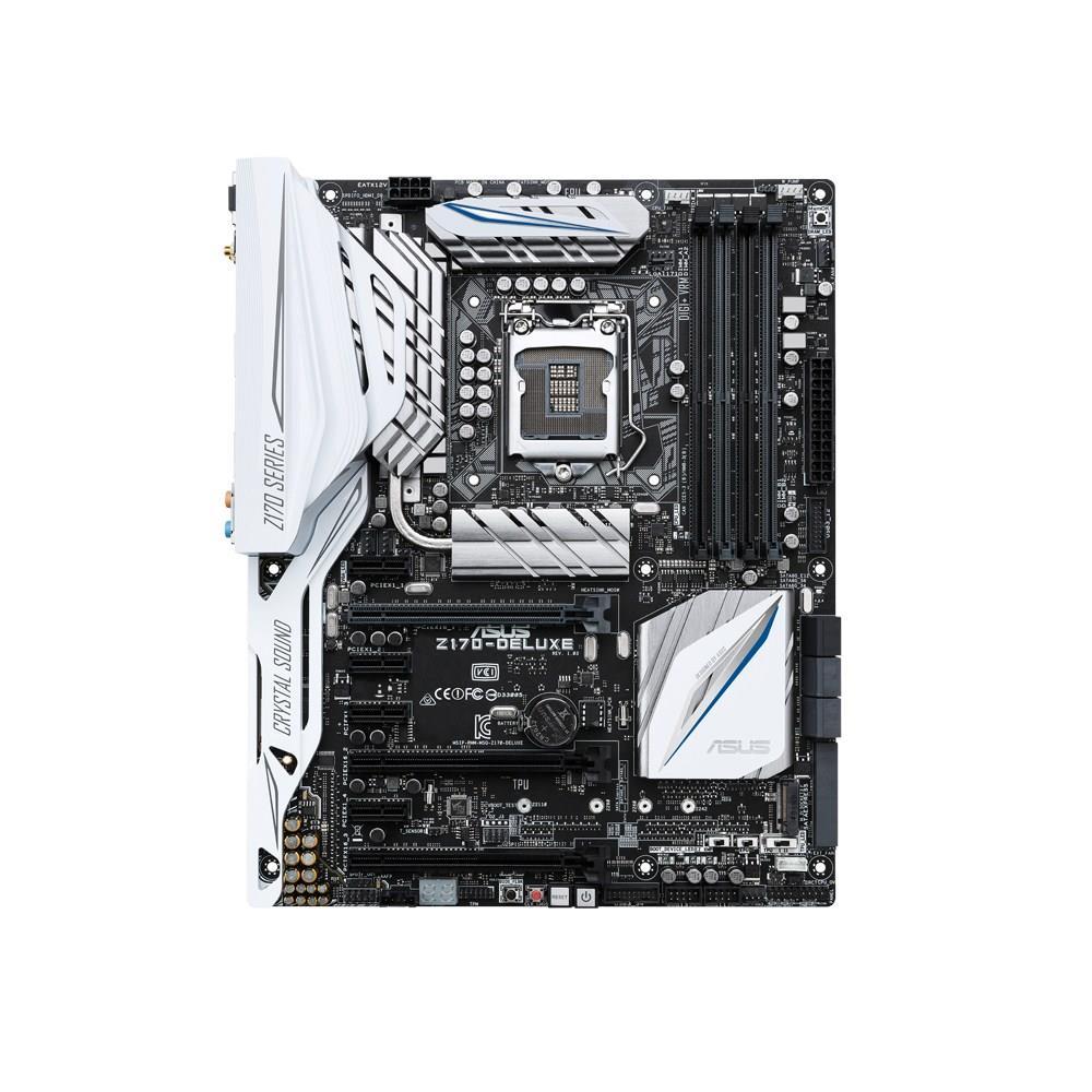 ASUS Z170-DELUXE, Z170, QuadDDR4-2133, SATAe, SATA3, HDMI, DP, USB 3.1, ATX