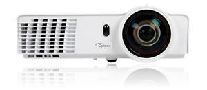 Projektor Optoma X306ST; DLP; XGA (1024x768); 3200 ANSI; 18000:1; HDMI; RJ45; 3D