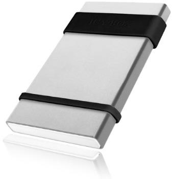 IcyBox externí box na 2.5'' HDD, SATA do USB3.0, stříbrný