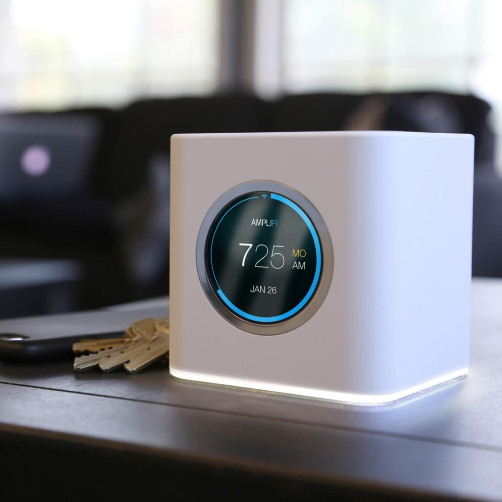 UBNT AmpliFi HD Home Wi-Fi Router [2.4GHz(450Mbps)+5GHz(833Mbps), 3x3 MIMO, 802.11a/b/g/n/ac/ac]
