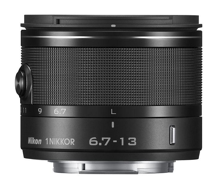 Objektiv Nikon 1 NIKKOR VR 6.7-13mm černý
