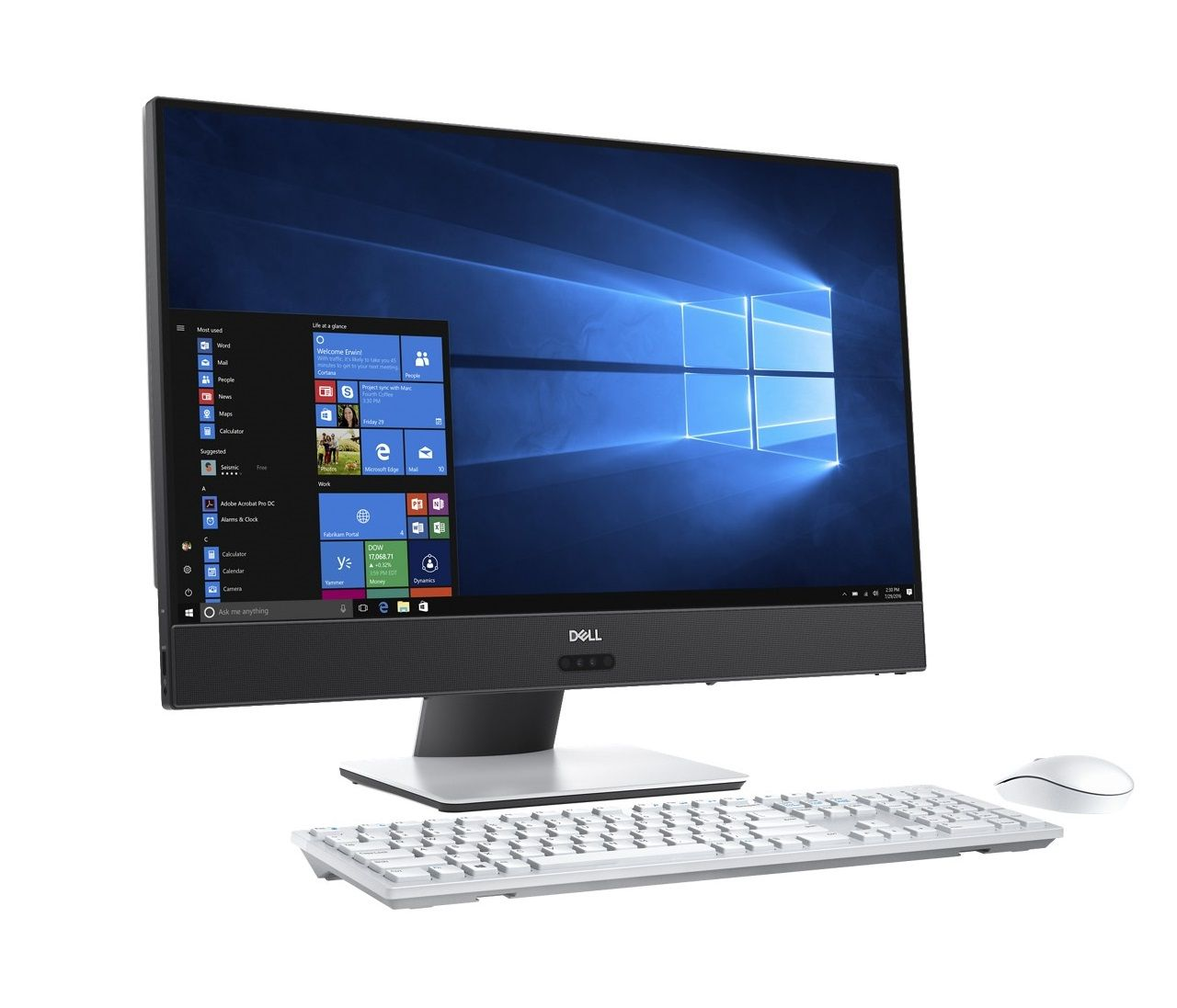 Dell Inspiron 5475 AIO/A10-9700E(quad core)/8GB/128GB SSD+1TB/ATI RX560 4GB/FHD Touch/Win Home