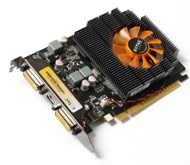 ZOTAC GeForce GT 730, 2GB DDR3 (128 Bit), 2xDVI, mini HDMI
