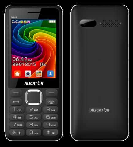 ALIGATOR D940 Dual sim černý