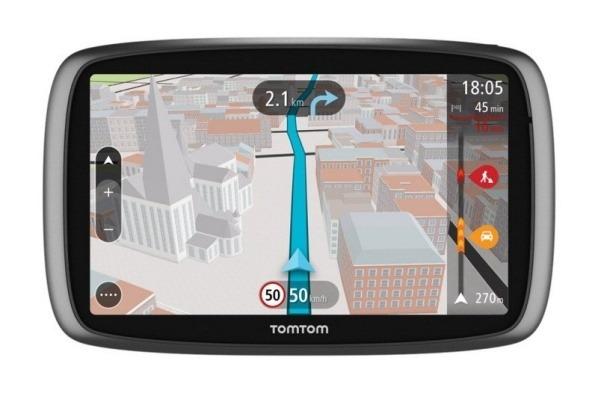 "TOMTOM Trucker 5000 Europe, Lifetime mapy, 5"" displej"