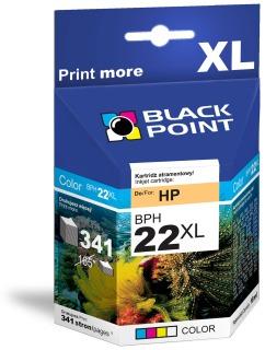 Ink Black Point BPH22XL   Color   18 ml   341 p.   HP C9352