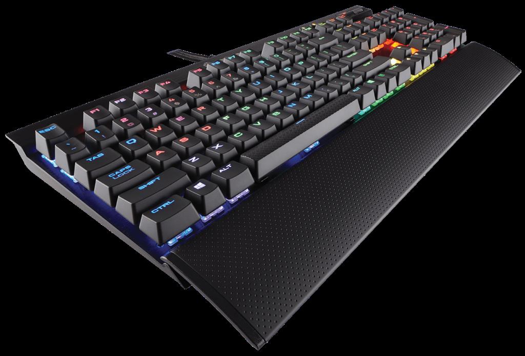 Corsair herní klávesnice K70 RAPIDFIRE RGB podsvícení LED, MX Cherry, EU