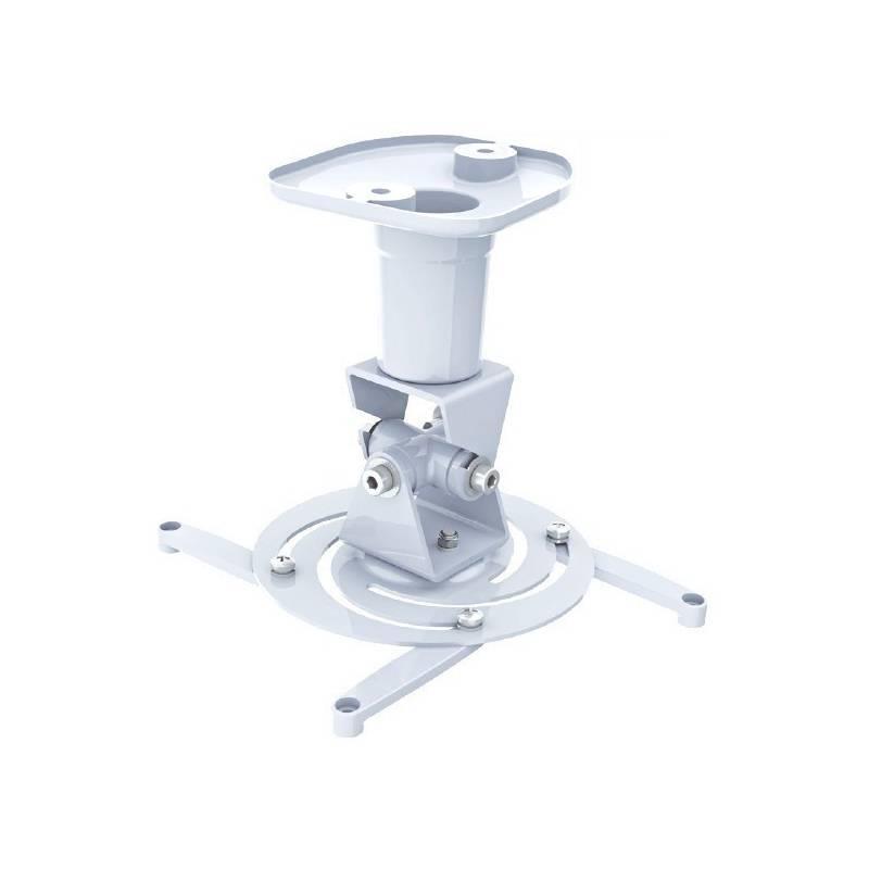 Techly Stropní držák na projektor 22 cm 10 kg bílý
