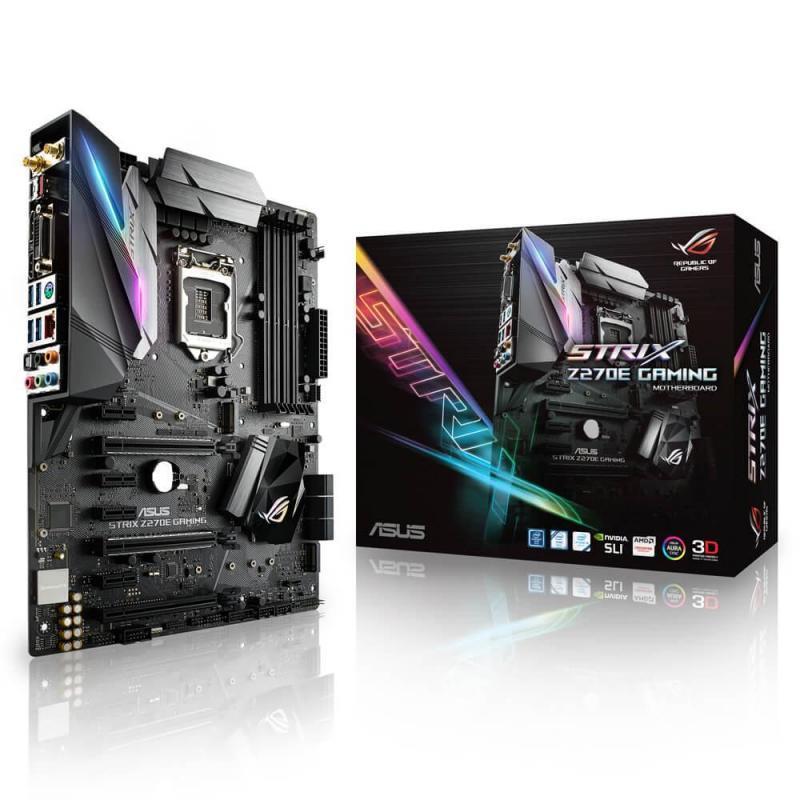 ASUS STRIX Z270E GAMING, Z270, LGA1151, ATX, 4xDDR4 3866MHz,