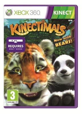 Microsoft XBox 360 hra Kinectimals /Kinect/