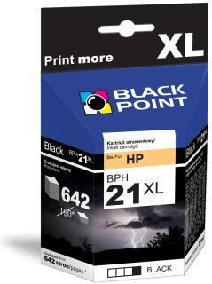 Ink Black Point BPH21XL   Black   22 ml   820 p.   HP C9351