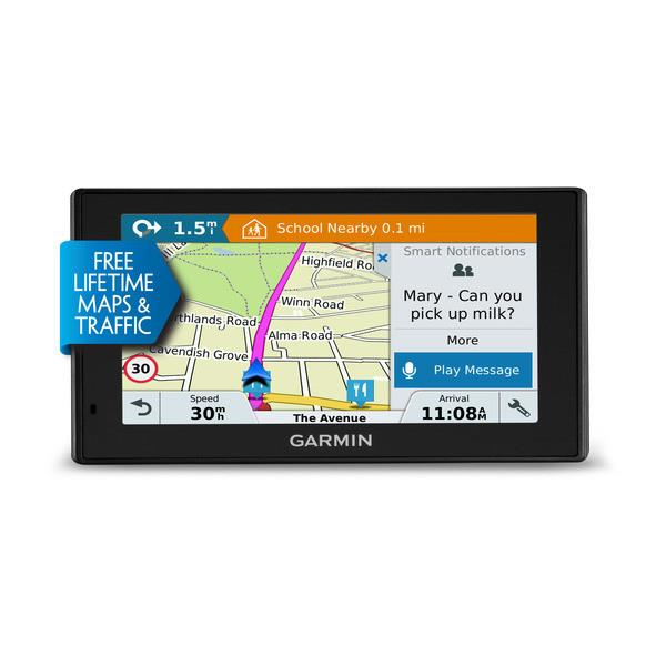 Garmin navigace DriveSmart 60LMT-D Evropa, 6.0'', Lifetime Map & Traffic