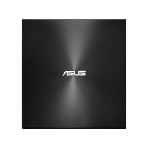 External DRW Asus SDRW-08U9M-U, USB Type-C and Type-A, Ultra-Slim, Black
