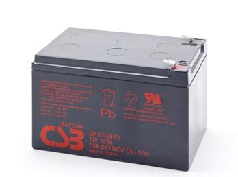 CSB Náhradni baterie 12V - 12Ah GP12120 F2 - kompatibilní s RBC4/6