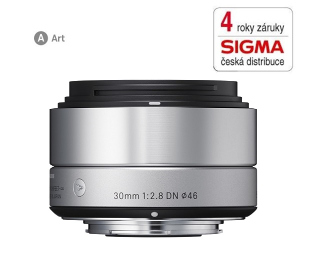 SIGMA 30/2.8 DN ART stříbrný SONY