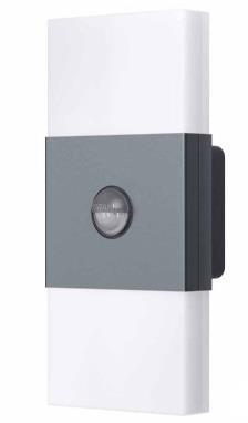 Osram venkovní nástěnné svítidlo Noxlite LED Wall 2x6W 460lm 6000K, senzor