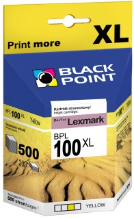 Ink Black Point BPL100YXL   Yellow   10,5 ml   Lexmark 14N0902E