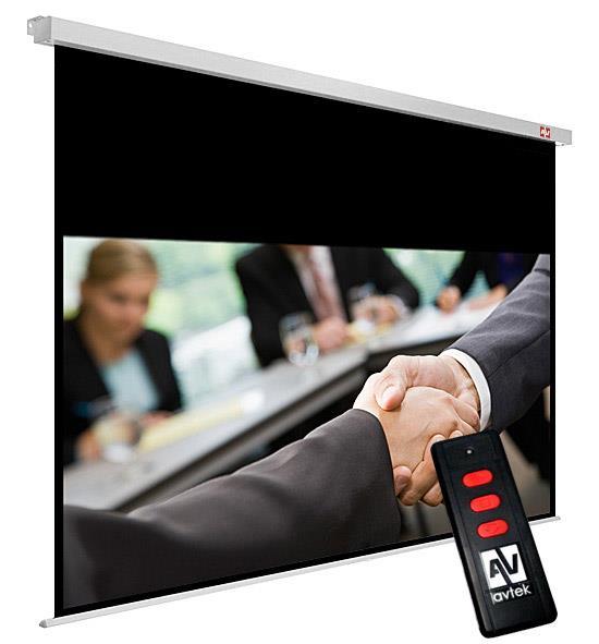 Elektrické plátno Avtek Business Electric 270 (260 x 162,5 cm), MW, 16:10