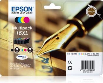 Bundle Epson T1636 XL CMYK Multi Pack   WF-2010/25x0