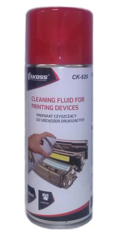 VAKOSS Čistící tekutina pro tisková zařízení CK-620 400ml