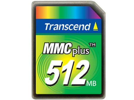 Transcend 512MB High Speed MMC multimedia memory card