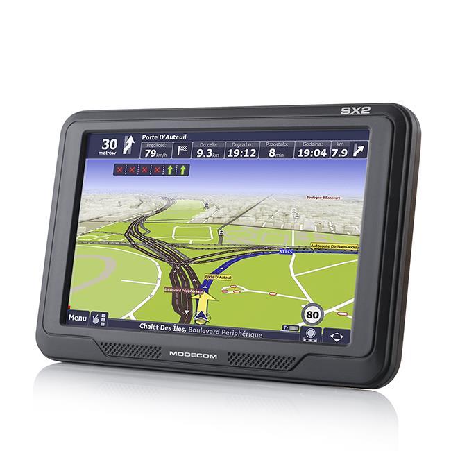 Modecom FreeWAY SX2, AutoMapa Evropa + předplatné služby 12 měsíců