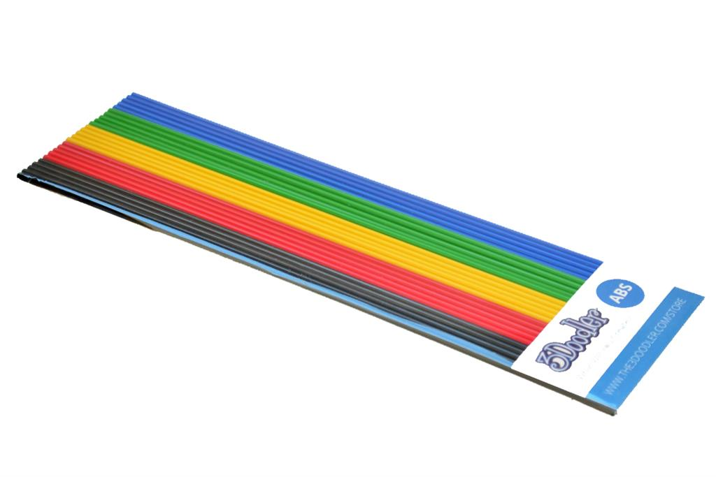 3DOODLER Filaments ABS to the 3Doodler Create, PRO, 2.0&1.0 BLK/RED/YEL/GRN/BLU