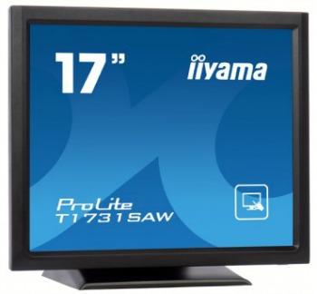 Iiyama LCD T1731SAW-B1 17''LED dotykový, 5ms, VGA/DVI, repro, 1280x1024, č
