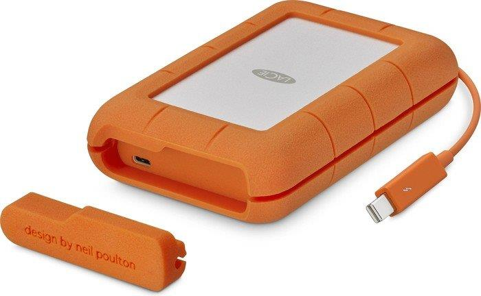 LaCie Rugged® Thunderbolt, 2,5'', 512GB, USB 3.1