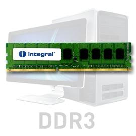 INTEGRAL 4GB 1066MHz DDR3 ECC CL7 R2 DIMM 1.5V