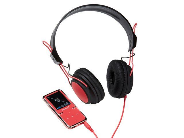 Intenso MP4 player 8GB Video Scooter LCD 1,8'' Pink + Headphones