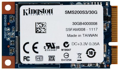 30GB SSDNow Kingston mSATA 3 (6Gbps)