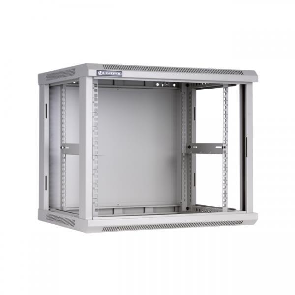 Linkbasic závěsná skříně 19'' 9U 600x600mm - šedá
