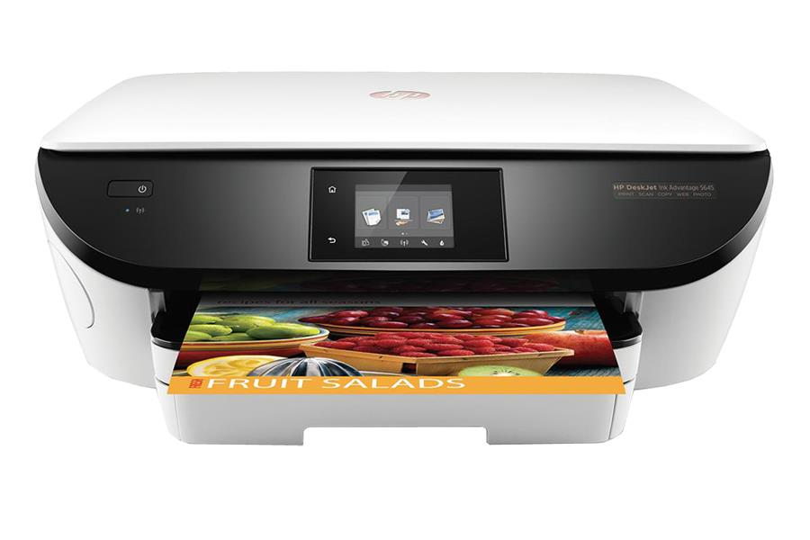 HP All-in-One Deskjet Ink Advantage 5645 (A4, 12/8 (22/21) ppm, USB, Wi-Fi, Print, Scan, Copy, Photo, duplex)