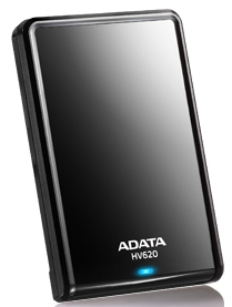 "ADATA HV620 1TB External 2.5"" HDD black"
