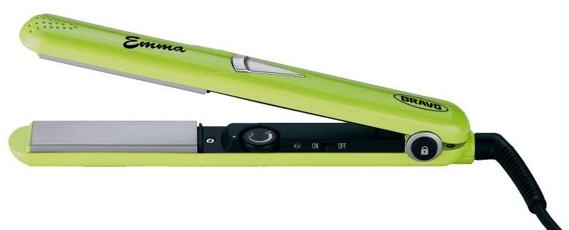 Žehlička na vlasy Bravo B 4327 Emma světle zelená