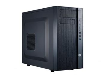 CoolerMaster case minitower series N200, ATX,black, USB3.0, bez zdroje