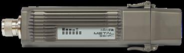 MikroTik RBMetal-5SHPn Metal outdoor AP/klient 5 GHz, 1x LAN, 64MB, L4