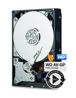 WD AV-GP 20EURX 2TB HDD 3.5'' pro AV, SATA/600, IntelliPower, 64MB cache
